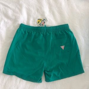 GUESS x J Balvin collab swim shorts